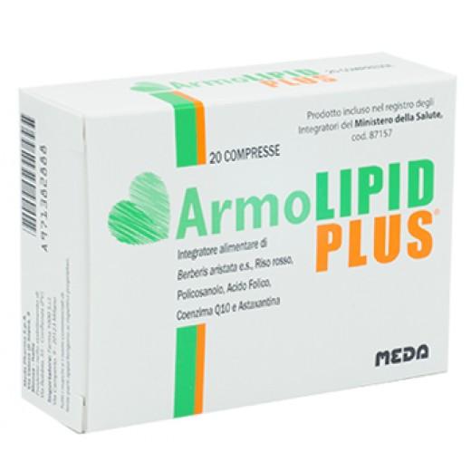 ARMOLIPID PLUS integratore per il colesterolo 20 compresse CONFEZIONE ITALIANA